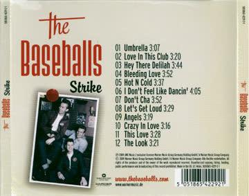 cd: the baseballs: strike