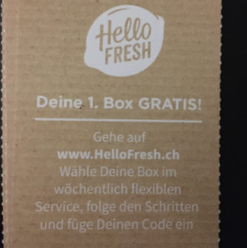 Hello Fresh GratisBox (Essen)