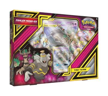 Pokémon Fahler Mond-GX Kollektion GX 4 Booster und mehr