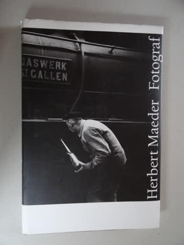 Herbert Maeder - Fotograf