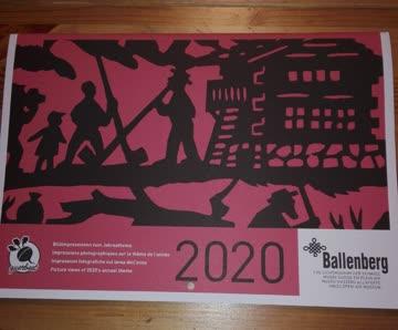 Kalender 2020 Ballenberg