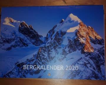 Kalender 2020 Berg
