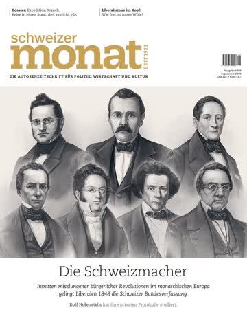 Schweizer Monat Ausgabe 1069 - September 2019