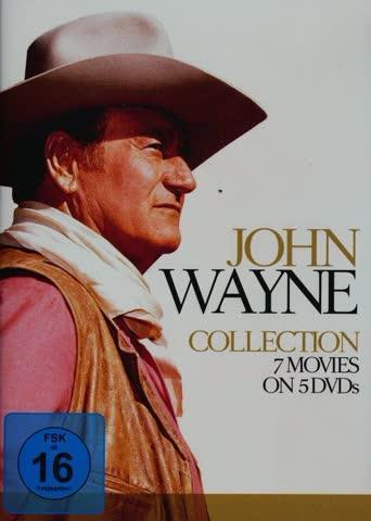 John Wayne Collection & Movies [5 DVDs]