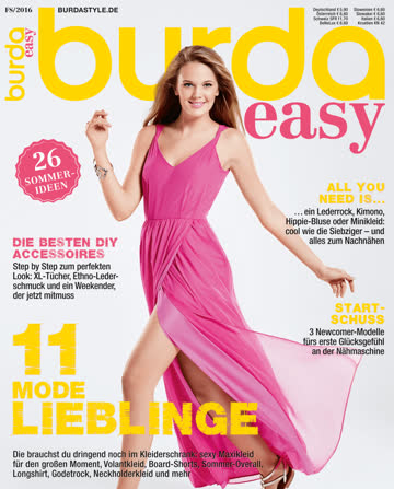 Burda easy FS/2016