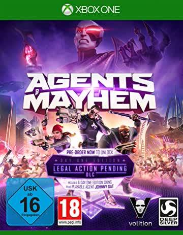 Agents of Mayhem Day One Edition (XONE) [German Version]