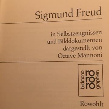 Sigmund Freud - Rororo Biografie