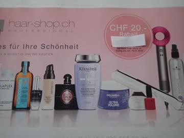 Gutschein haar-shop.ch CHF.20.- Rabatt