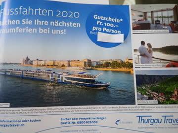 Gutschein Thurgau Travel CHF 100.- Rabatt