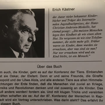 Kästner, Erich: Konferenz der Tiere
