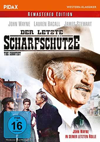 Der letzte Scharfschütze (The Shootist) / Der letzte Western von John Wayne weltweit erstmals von HD-Abtastung remastered (Pidax Western-Klassiker)