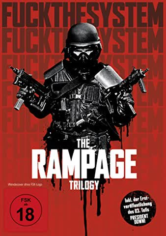 FLETCHER,BRENDAN/FREWER,MATT/MUNRO,LOCHLYN/+ - THE RAMPAGE TRIOLGY (1 DVD)