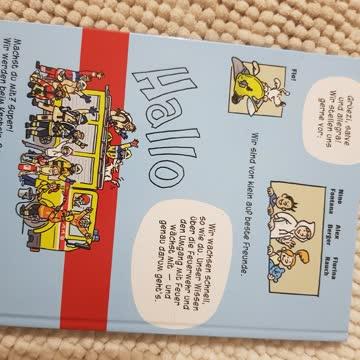 """Kinderbuch """"hallo Feuerwehr"""""""