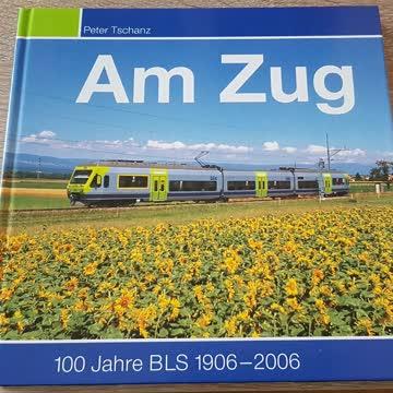 Am Zug 100 Jahre BLS