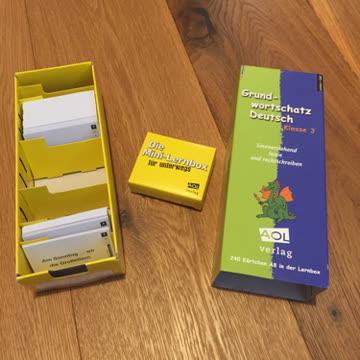 Lernkartei Grundwortschatz Deutsch