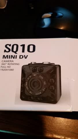 SQ 10 Mini DVCamera Full HD 1920 * 1080 Nur Aus