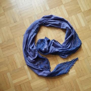 Halstuch blau