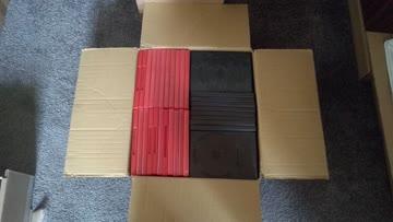 grosses Paket leere DVD-Hüllen
