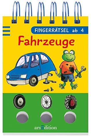 Fingerrätsel - Fahrzeuge