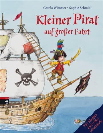 Kleiner Pirat auf großer Fahrt