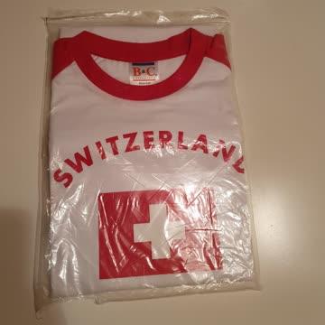 Switzerland T Shirt Gr. M