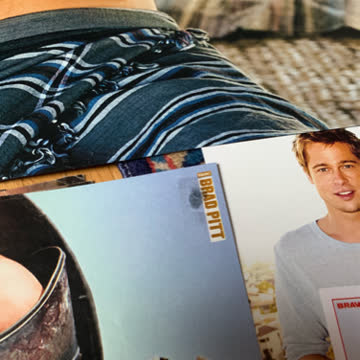 Brad Pitt Postersammlung