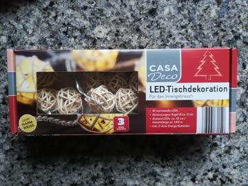 LED- Lichterkette / Tischdekoration