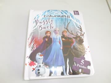 Puzzle-Buch Eiskönigin2