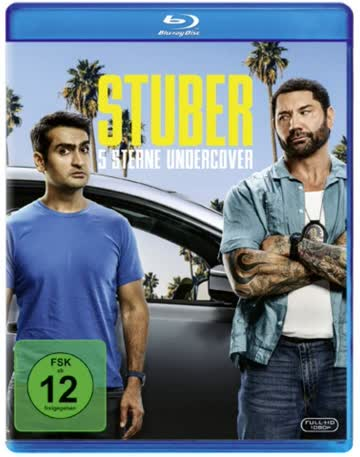 Stuber - 5 Sterne Undercover [Blu-ray] [2019]