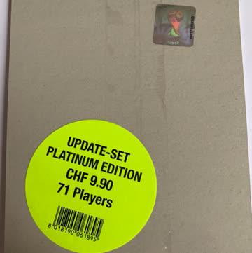 FIFA 2014 Panini Platinum Edition Update Set 71 Players
