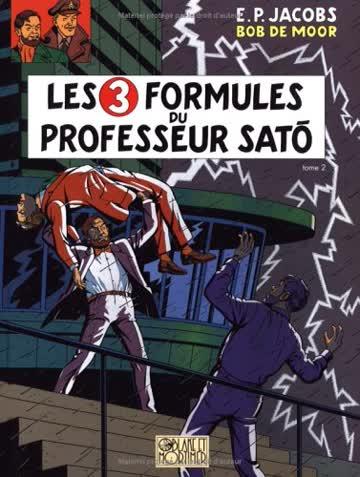Les aventures de Blake et Mortimer, Tome 12 : Les 3 formules du professeur Sato : Tome 2, Mortimer contre Mortimer