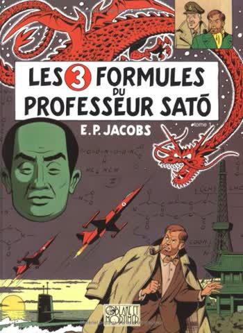 Les aventures de Blake et Mortimer, Tome 11 : Les 3 formules du professeur Sato : Tome 1