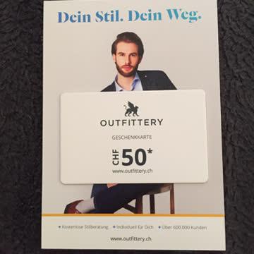 Outfittery Gutschein CHF 50.-