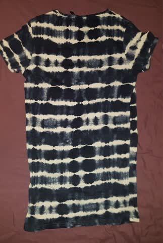 Shibori/Batiklongshirt, S