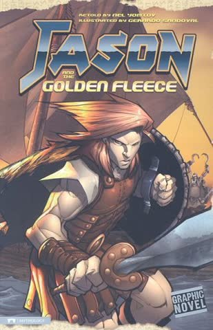 Jason and the Golden Fleece (Graphic Revolve Graphic Novel)