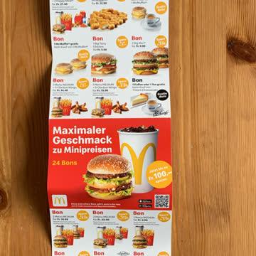 McDonalds 24 Bons