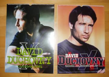 2 Kalender von David Duchovny