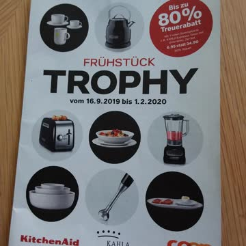 Frühstück Trophy