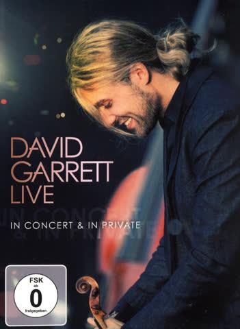 Garrett David - Live - In Concert & In Private