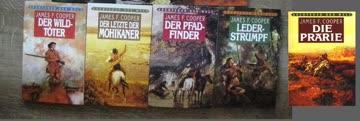 Die Lederstrumpf Erzählungen von J.F. Cooper