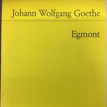 Goethe, JW: Egmont
