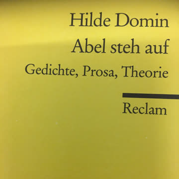 Domin, H: Abel steh auf