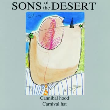 Sons of the Desert - Cannibal hood, Carnival hat (UK Import)