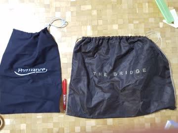 Stofftaschen als Hülle