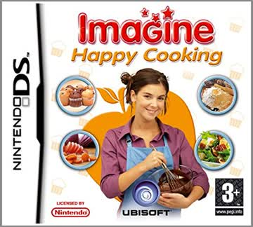 Imagine Happy Cooking Game DS