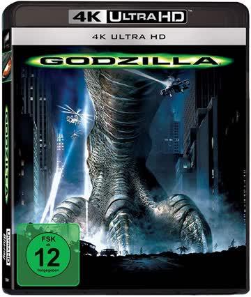 Godzilla 4K UHD Blu-ray Disc / Deutsch / von Roland Emmerich