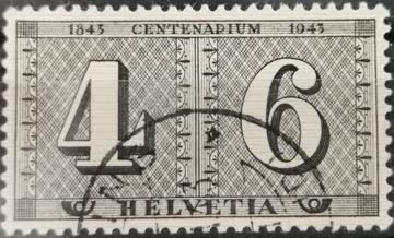 1943 100 Jahre Briefmarken gestempelt