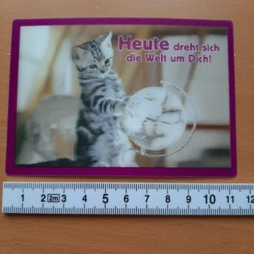 3D Postkarte whiskas