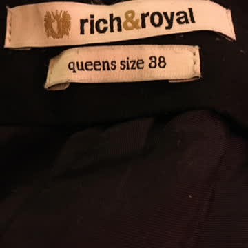 Rich & Royal 38 Hose mit Wolle