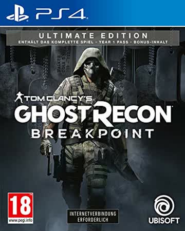 Tom Clancys Ghost Recon Breakpoint [Ultimate uncut Edition] - Deutsche Verpackung
